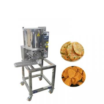 High Efficiency Meat Patty Making Machine / Hamburger Patty Forming Machine