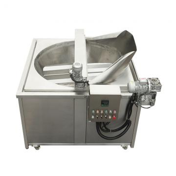 Commercial 2 Tank 4 Basket Deep Fryer Oil Filter Machine