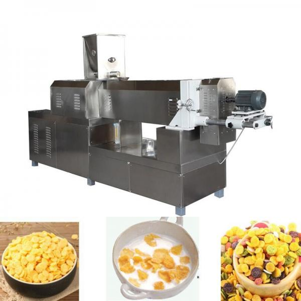 Automatic Grain Corn Rice Breakfast Cereal Flaking Machine