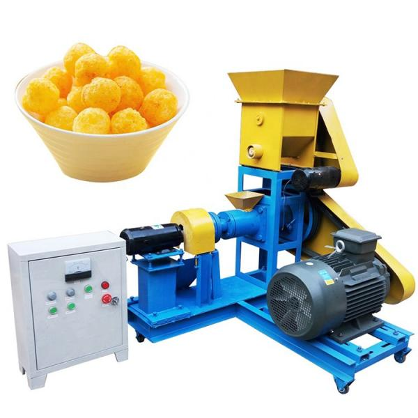 Snack Extruder with Double Screw for Extrusion Food